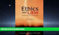 Enjoyed Read Ethics and Law for School Psychologists