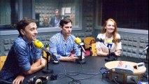 Entrevista en Radio Vigo a Alejandro Tous, Armando Pita y Cristina Castaño.