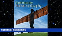 Download Contemporary Human Geography (3rd Edition) Free Books