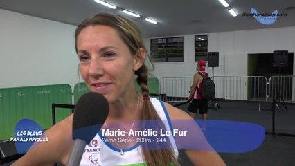 Marie Amelie Le Fur - 2eme Serie - 200m - T44 - Jeux Paralympiques Rio 2016