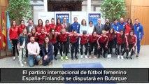 El partido España-Finlandia de fútbol femenino se jugará en Leganés