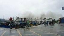 Images folles du typhon Meranti qui frappe Taiwan - Vagues géantes