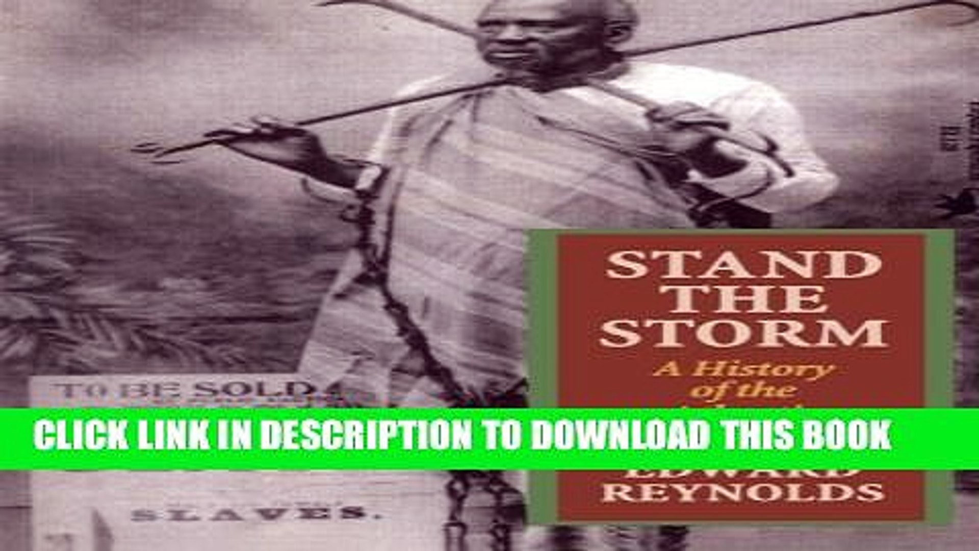 [PDF] Stand the Storm: A History of the Atlantic Slave Trade Popular Colection