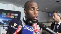 ASM - Les joueurs de Monaco savourent la victoire contre Tottenham en Ligue des champions