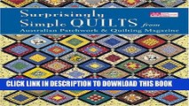 [New] Surprisingly Simple Quilts: From Australian Patchwork   Quilting Magazine (That Patchwork