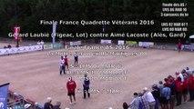 Finale AS, épreuve de tir, Sport Boules, France Quadrettes Vétérans, Cluses 2016 - 11 septembre 2016