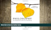 behold  Philosophy: An Introduction to the Art of Wondering