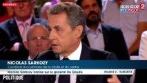"""Nicolas Sarkozy dans l'Emission Politique : """"Vous n'allez pas accuser le général De Gaulle d'avoir été un dictateur"""" ?"""