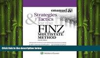 Big Deals  Strategies   Tactics for the FINZ Multistate Method (Emmanuel Bar Review) (Emanuel Bar