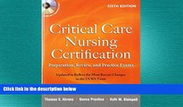 Must Have PDF  Critical Care Nursing Certification: Preparation, Review, and Practice Exams, Sixth