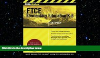 Big Deals  CliffsNotes FTCE Elementary Education K-6, 2nd Edition  Best Seller Books Most Wanted