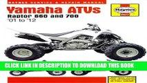 [PDF] Yamaha ATVs Raptor 660 and 700:  01 to  12 Popular Colection