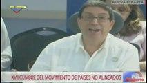 Cuba afirma que No Alineados incumplen principios acordados en 2006 en La Habana