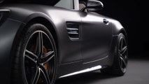 Mercedes-Benz Mercedes-AMG GT C Roadster - Exterior Design in Studio Trailer