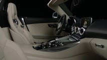 Mercedes-Benz Mercedes-AMG GT C Roadster - Interior Design in Studio Trailer