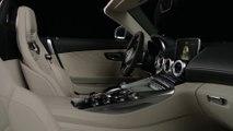 Mercedes-Benz Mercedes-AMG GT C Roadster - Interior Design in Studio Trailer