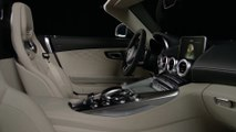 Mercedes-Benz Mercedes-AMG GT C Roadster - Interior Design in Studio