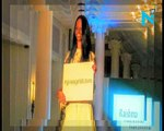 Acid attack survivor Laxmi walks the ramp at London Fashion Week
