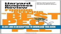 Collection Book Harvard Business Review on Finding   Keeping the Best People (Harvard Business