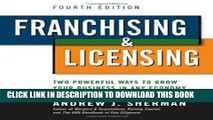 Collection Book Franchising   Licensing: Two Powerful Ways to Grow Your Business in Any Economy