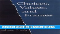 [PDF] Choices, Values, and Frames Popular Colection