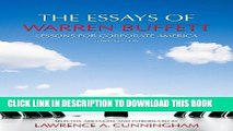 [PDF] The Essays of Warren Buffett: Lessons for Corporate America, Third Edition Popular Online