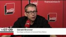 Gérald Bronner répond aux questions d'Ali Baddou