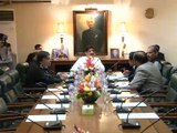 CM Sindh SYED MURAD ALI SHAH Chairs Meeting Police Matters (16-sept-2016)
