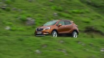 Opel MOKKA X in Amber Orange Driving Video Trailer