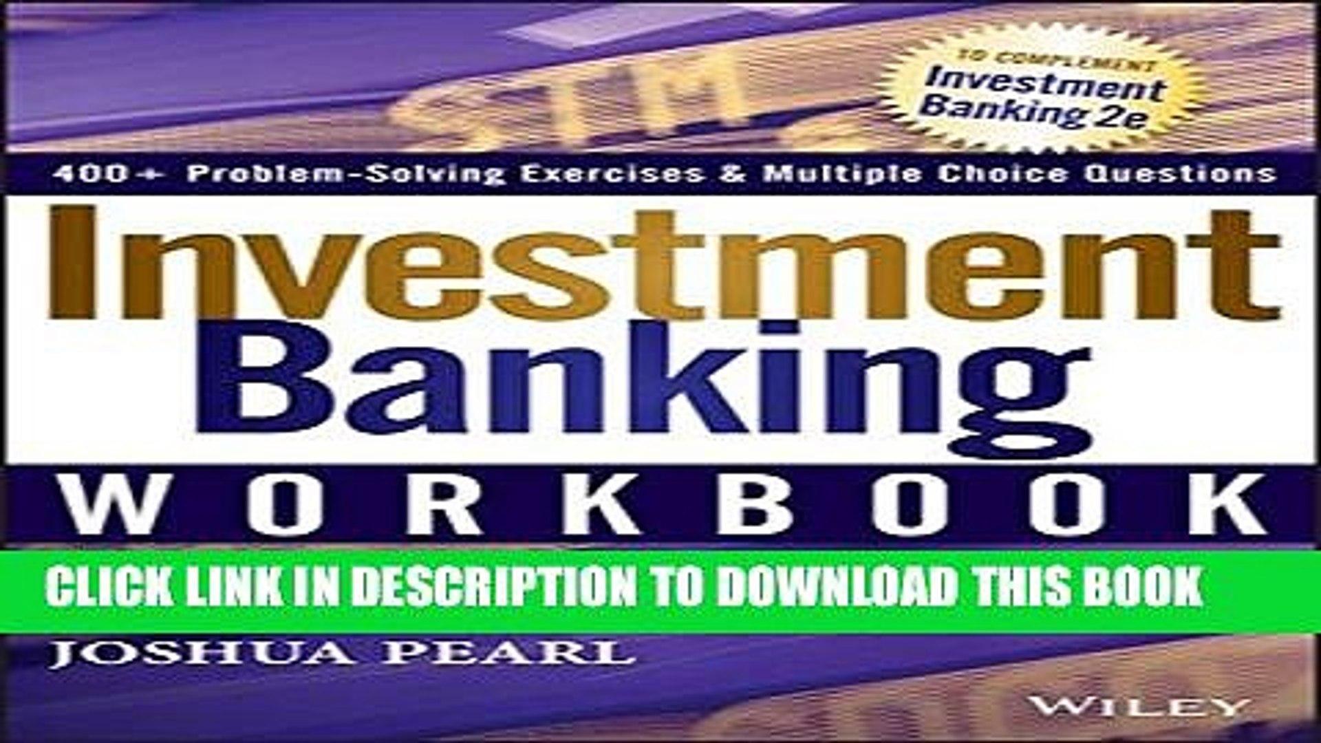 [PDF] Investment Banking Workbook Full Online