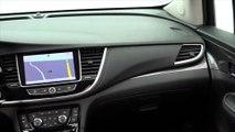 Opel MOKKA X in True Blue Interior Design Trailer