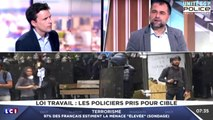 Loi travail, Nicolas COMTE sur LCI - Une quinzaine de Policiers blessés