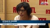 """Myriam El Khomri : """"Nicolas Sarkozy participe à une primaire d'extrême-droite''"""
