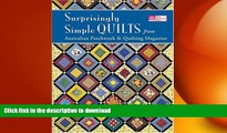 READ  Surprisingly Simple Quilts: From Australian Patchwork   Quilting Magazine (That Patchwork
