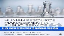 [PDF] Human Resource Management in Public Service: Paradoxes, Processes, and Problems Popular