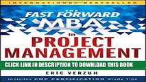 New Book The Fast Forward MBA in Project Management (Fast Forward MBA Series)