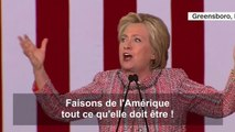 """Remise de sa pneumonie, Clinton passe en meeting """"I Feel Good"""" de James Brown... mort d'une pneumonie"""