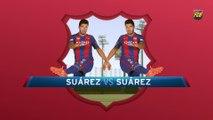 Trivial Suárez: 101 games with FCB