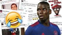 MU : Pogba se fait fracasser sur Twitter !