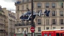 Un hélicoptère en plein Paris pour évacuer un CRS blessé