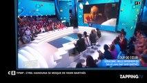 TPMP : Cyril Hanouna se moque de Yann Bartès et de son interview du Dalaï-lama (Vidéo)