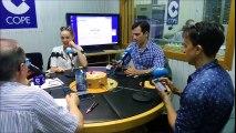 Entrevista Cope Vigo a Alejandro Tous,Armando Pita y Cristina Castaño 15/09/2016