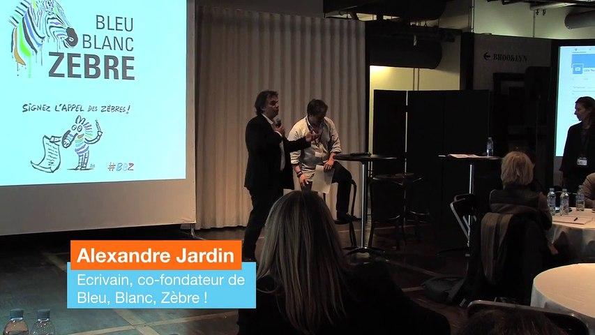 Conclusion d'Alexandre Jardin à l'atelier du Digital Society Forum du 2 juin 2016