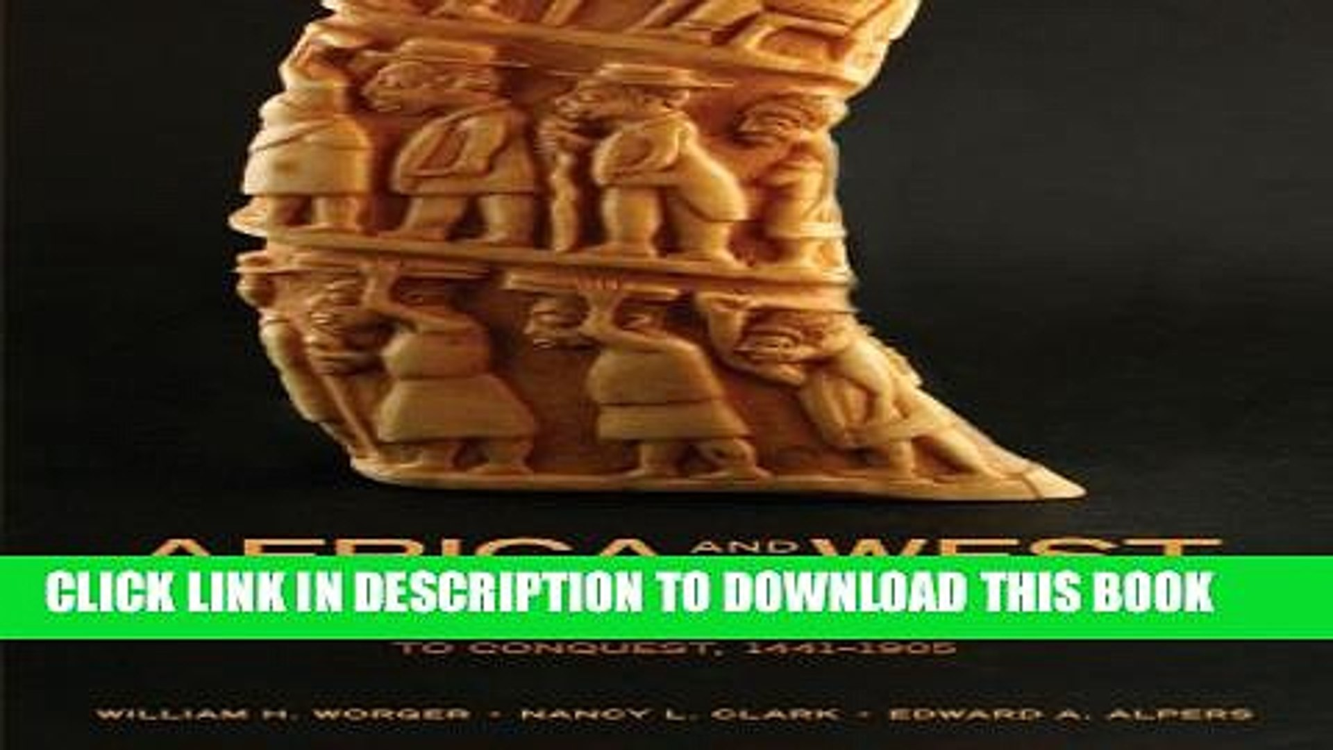 [PDF] Africa and the West: A Documentary History, Vol. 1: From the Slave Trade to Conquest,