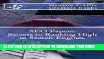[PDF] SEO Papers: Secrets to Ranking High in Search Engines Popular Online