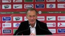 Brest - Auxerre : Conférence de presse d'avant-match