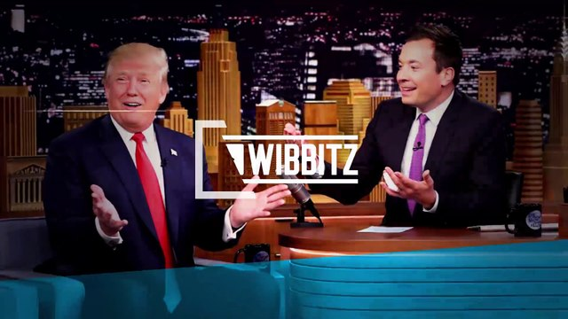Watch the moment Donald Trump lets Jimmy Fallon mess up his hair