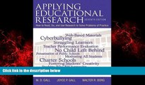 Popular Book Applying Educational Research: How to Read, Do, and Use Research to Solve Problems of