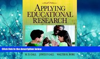 Online eBook Applying Educational Research: How to Read, Do, and Use Research to Solve Problems of