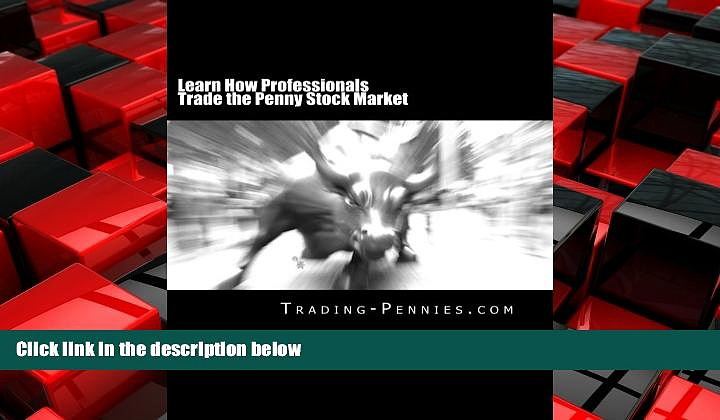 Choose Book Learn How Professionals Trade the Penny Stock Market: A step-by-step method on how to